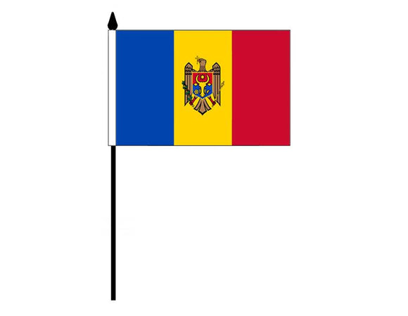 Moldova  (Desk Flag)
