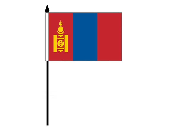 Mongolia  (Desk Flag)