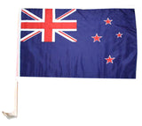 New Zealand - Car Flag