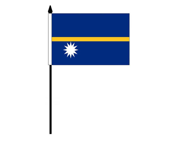 Nauru  (Desk Flag)