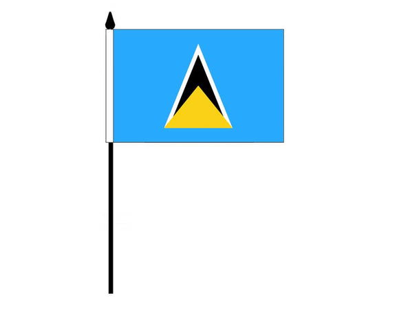 Saint Lucia (Desk Flag)