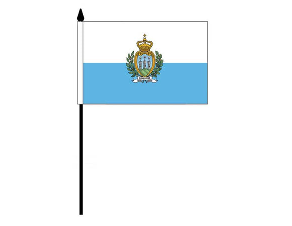 San Marino  (Desk Flag)