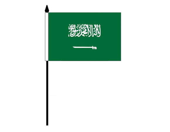 Saudi Arabia  (Desk Flag)