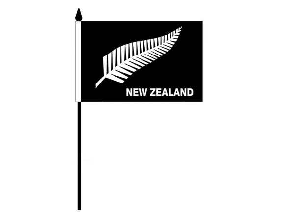Silver Fern - New Zealand (Desk Flag)