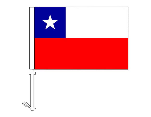 Chile - Car Flag