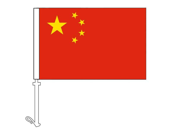 China - Car Flag