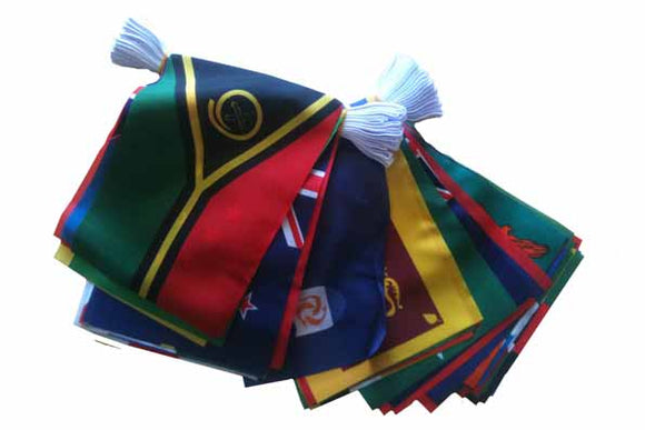 70 Commonwealth Nations - Flag Bunting