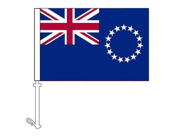 Cook Islands - Car Flag