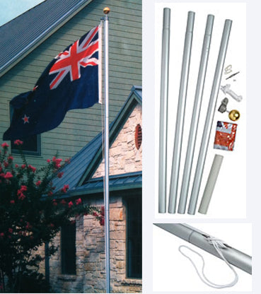 16Ft Aluminium Flagpole Kit