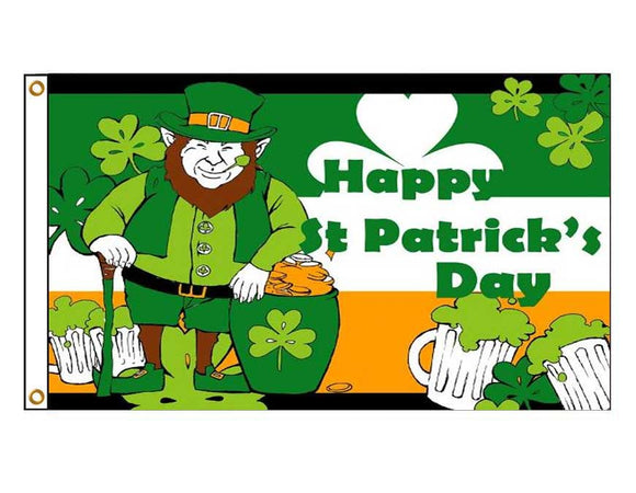 Happy St Patrick's Day - Leprechaun