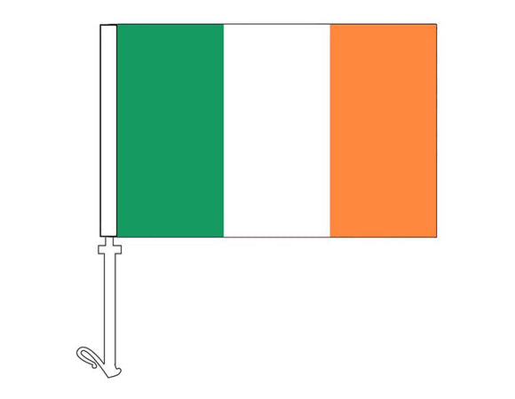 Ireland - Car Flag