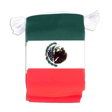 Mexico - Flag Bunting