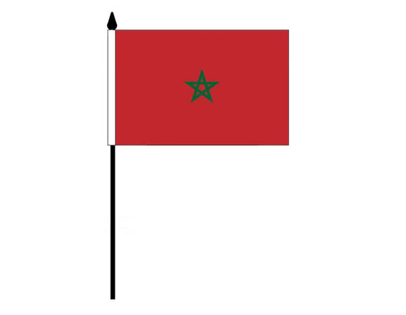Morocco  (Desk Flag)