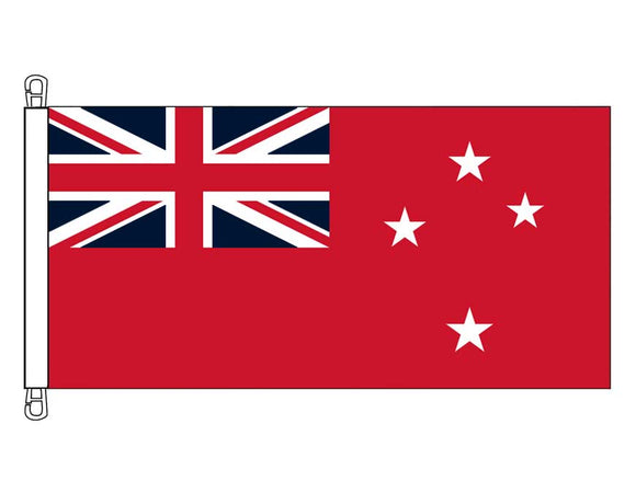 New Zealand Red Ensign - HEAVY DUTY (0.45 x 0.9 m)