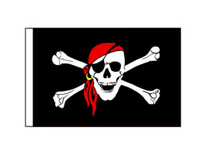 Pirate Red Scarf (Small)