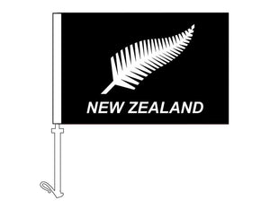 Silver Fern - Car Flag