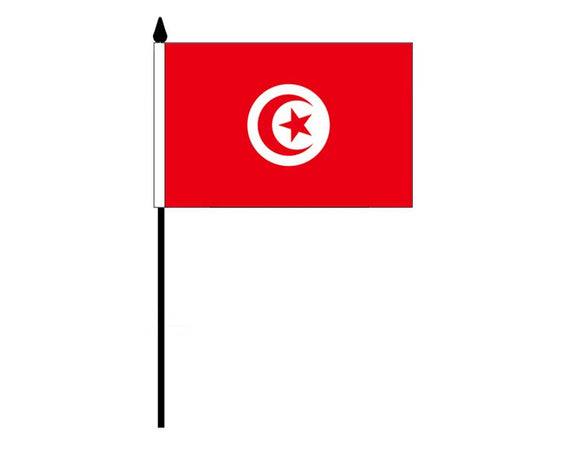 Tunisia  (Desk Flag)