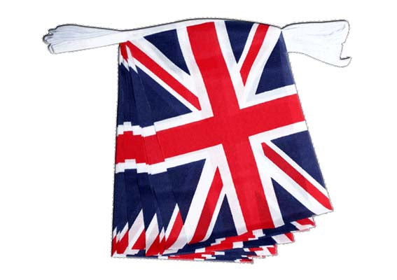 United Kingdom - Flag Bunting - British Union Jack