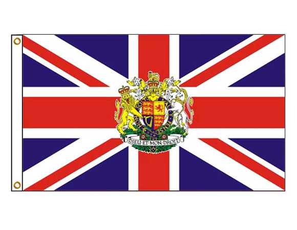 UK Royal Crest Flag