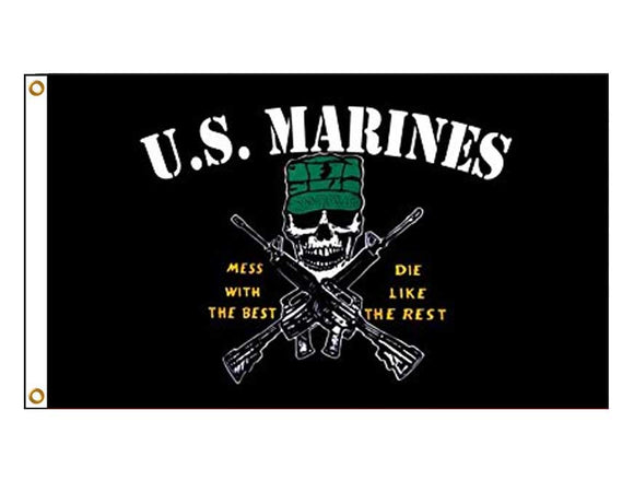 USA Marines - Mess With The Best