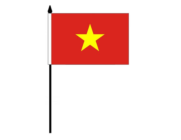 Vietnam  (Desk Flag)