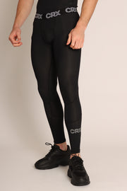 CRX Black Elite Men's Compression Tights