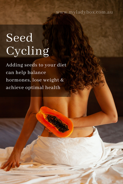 Seed Cycling for Hormones Period Box
