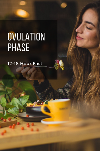 How Fasting with Your Menstrual Cycle Can Reduce Menstrual Symptoms [BONUS Cheat Sheet]