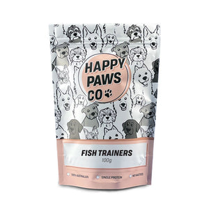 Happy Paws Co Fish Trainers 100g