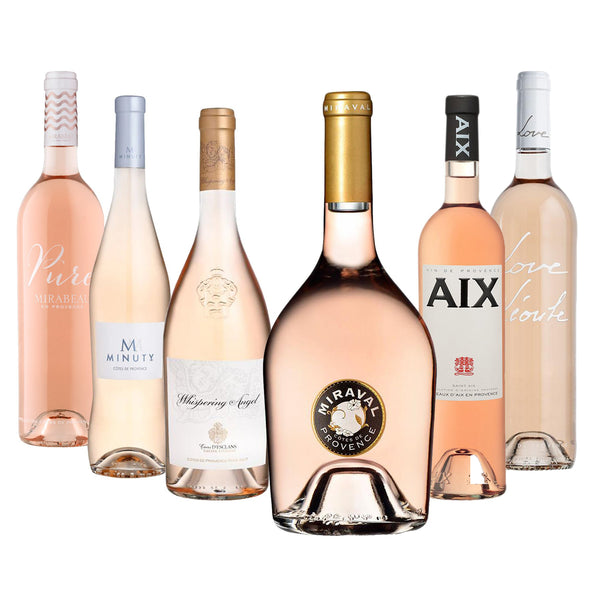 Best of Provence Rosé wine selection available to buy online