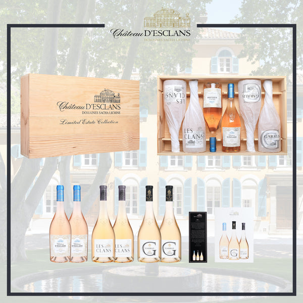 Chateau d'Esclans Limited Edition Estate Collection Case available to buy online