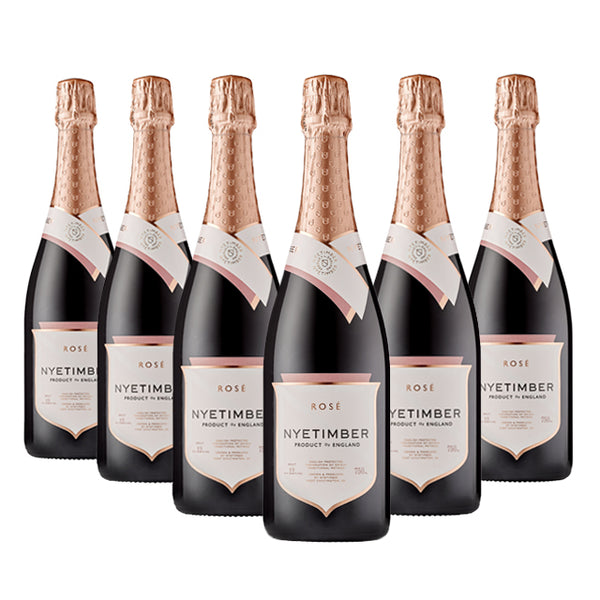 Nyetimber Sparkling Rosé - case of 6 x 75cl available to buy online