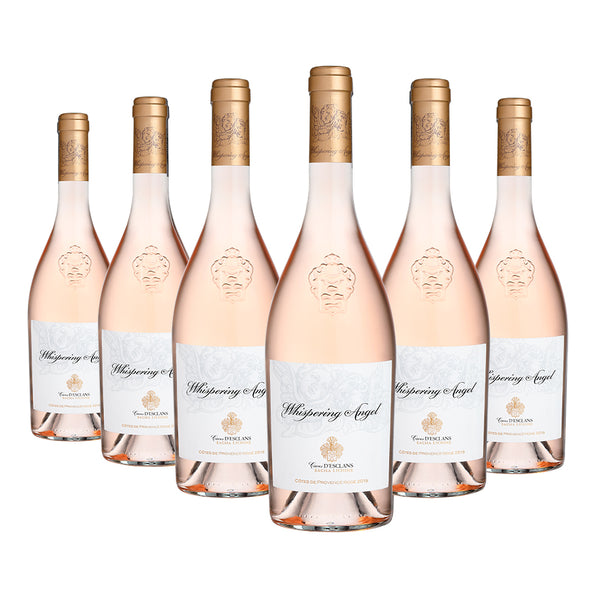 Whispering Angel rose wine case of 6 x 75cl available to buy online