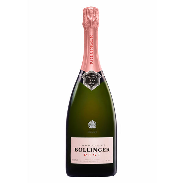 Bollinger Rosé Champagne available to by online
