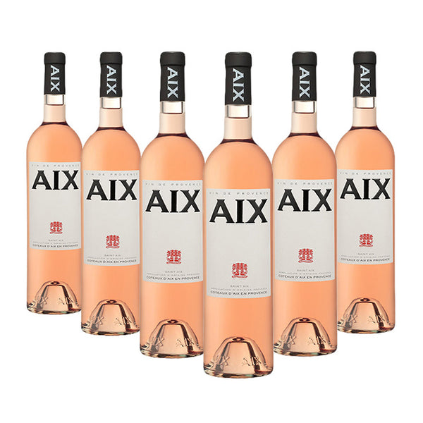 AIX Rosé wine case of 6 x 75cl available to buy online