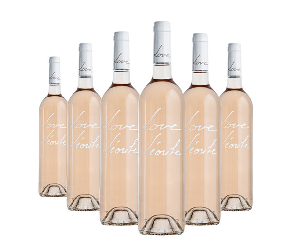 Love by Léoube rosé wine case of 6 x 75cl available to buy online