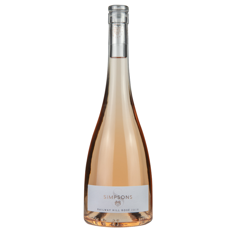 Simpsons Railway Hill Rosé wine available to buy online