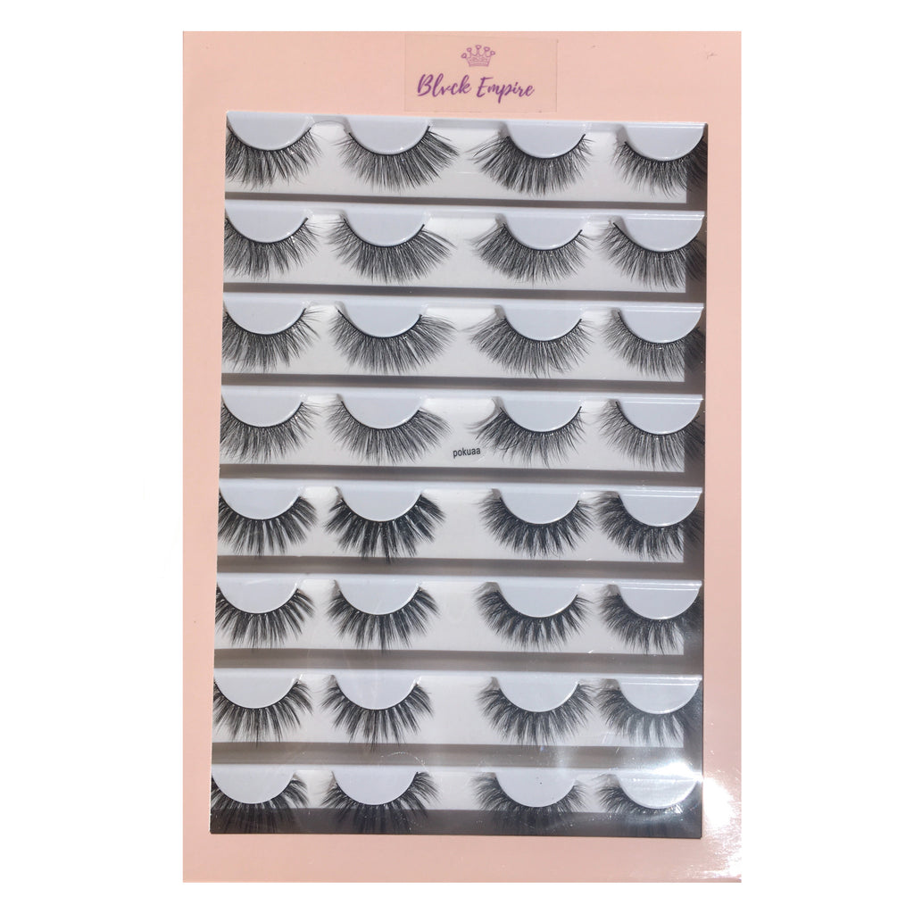 Faux Lashes 16 Pairs - Pokuaa