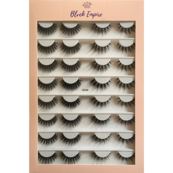Faux Lashes 16 Pairs - Girl Code