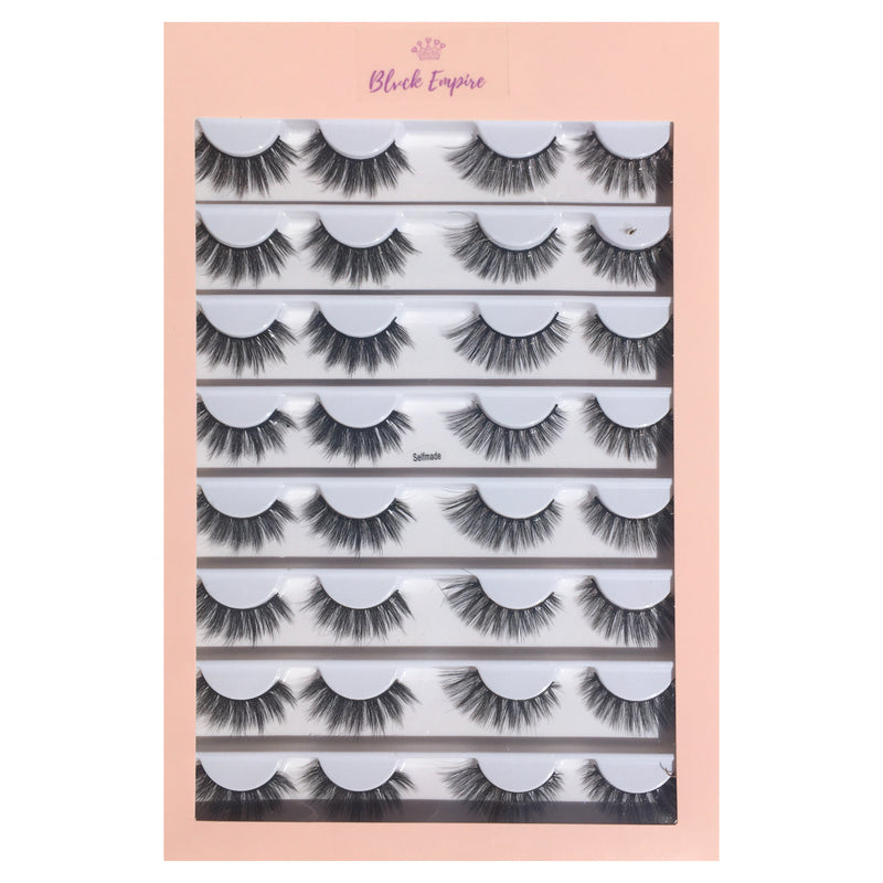 Faux Lashes 16 Pairs - Self Made