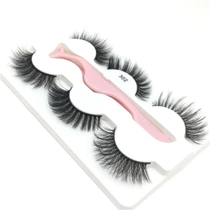 302 - Faux Lashes 3 Pairs