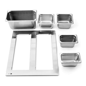 stainless steel pan kit