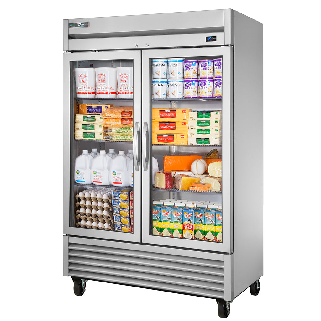 T-49 Commercial Refrigerator Glass Door