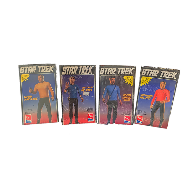AMT Ertl Star Trek Crew Model Set