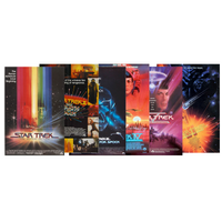 All 6 TOS Movie Posters