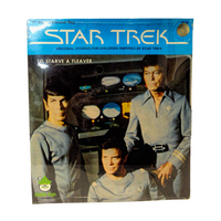 Star Trek The Motion Picture 45 Record To Starve a Fleaver from the Shatner Archives