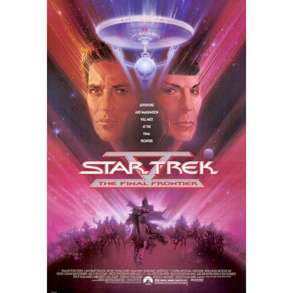 Star Trek The Final Frontier Movie Poster