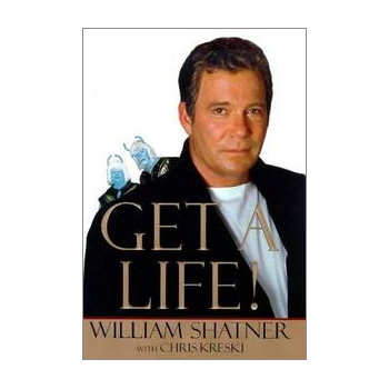Shatner Archives - Get A Life Hardbound Book First Edition