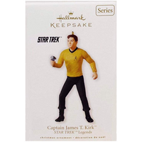 2010 Hallmark Captain Kirk Ornament