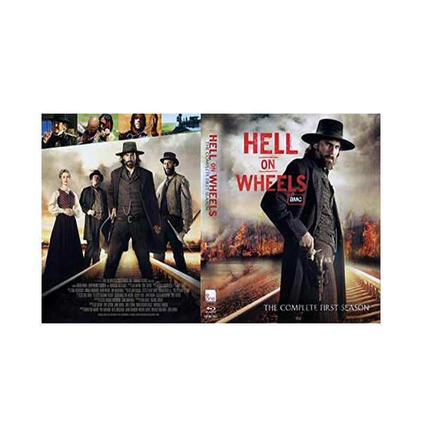Hell On Wheels Season One DVD Original DVD Set